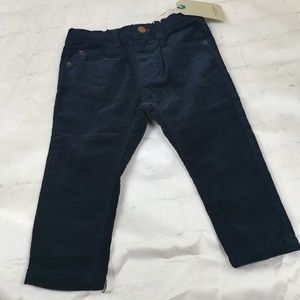 Zara Baby Boy Corduroy Navy Blue Pants